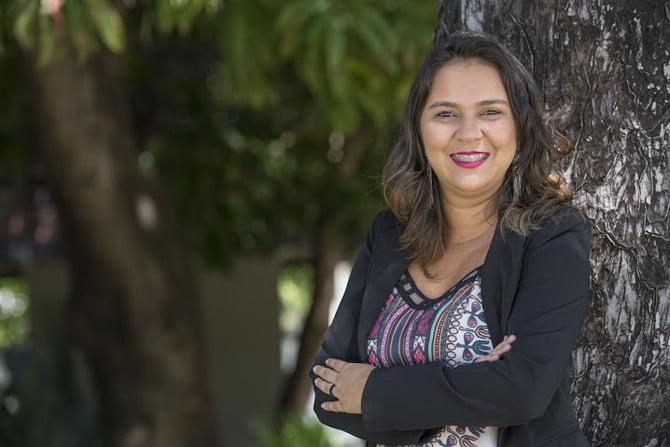 CAMILA SILVEIRA, TITULAR DA COORDENADORIA DE POLITICAS PUBLICAS SOBRE MULHERES