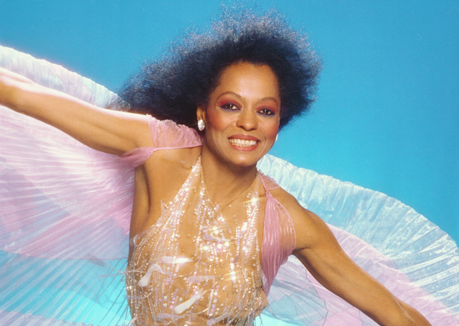 LOS ANGELES - JULY 3:  Singer Diana Ross poses for a portrait session on July 3, 1987 in Los Angeles. California (Photo by Harry Langdon/Getty Images)