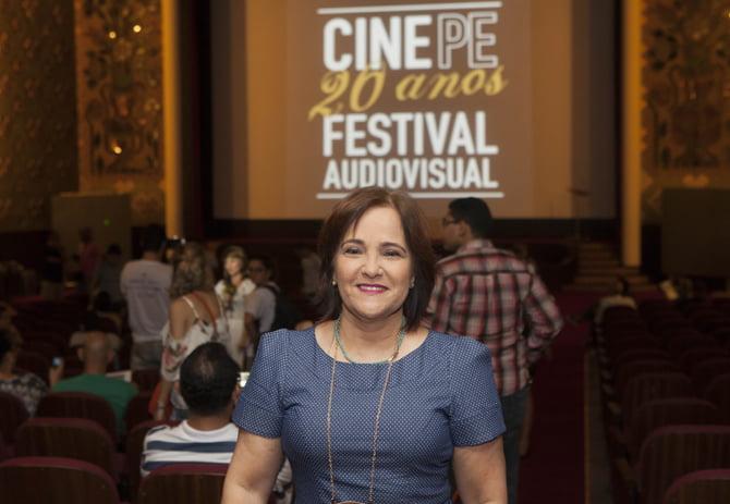 03/05/2016. Sandra Bertini, diretora do CinePe. Foto:Daniela Nader/Divulgação.