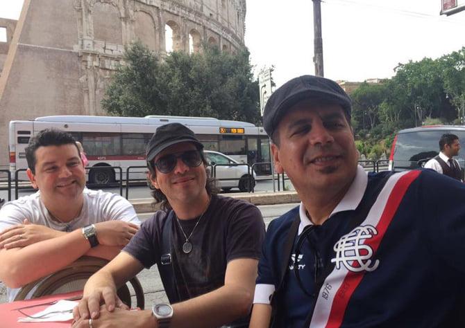 pr-andre-luciano-magno-maestro-spok em Roma