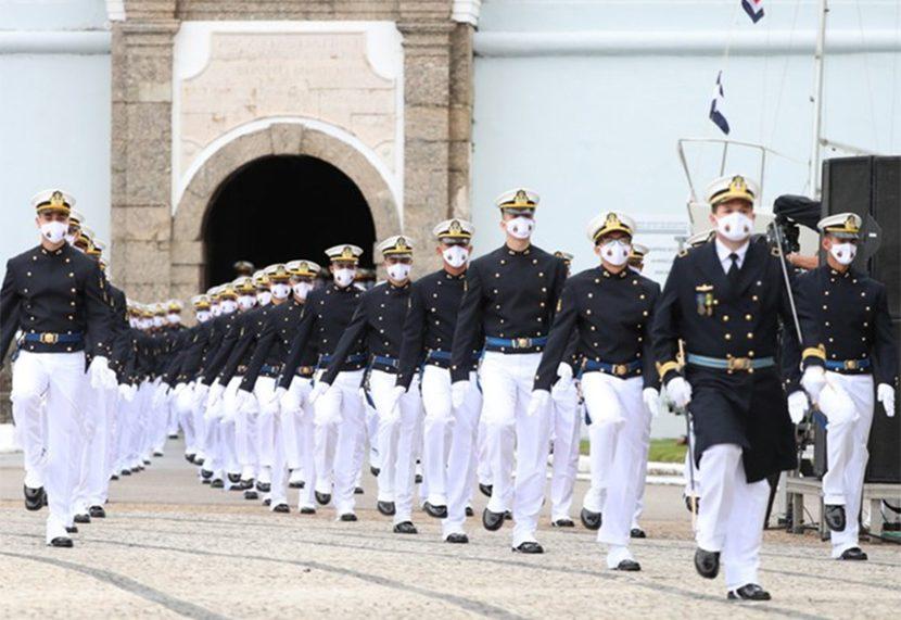 Presidente Bolsonaro na Escola Naval