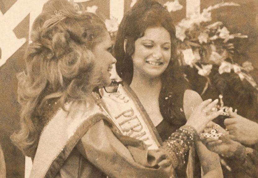 Dilene vence o Miss Pernambuco de 1971