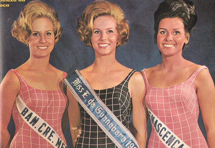 Ana Cristina Ridzi vence o Miss GB 1966