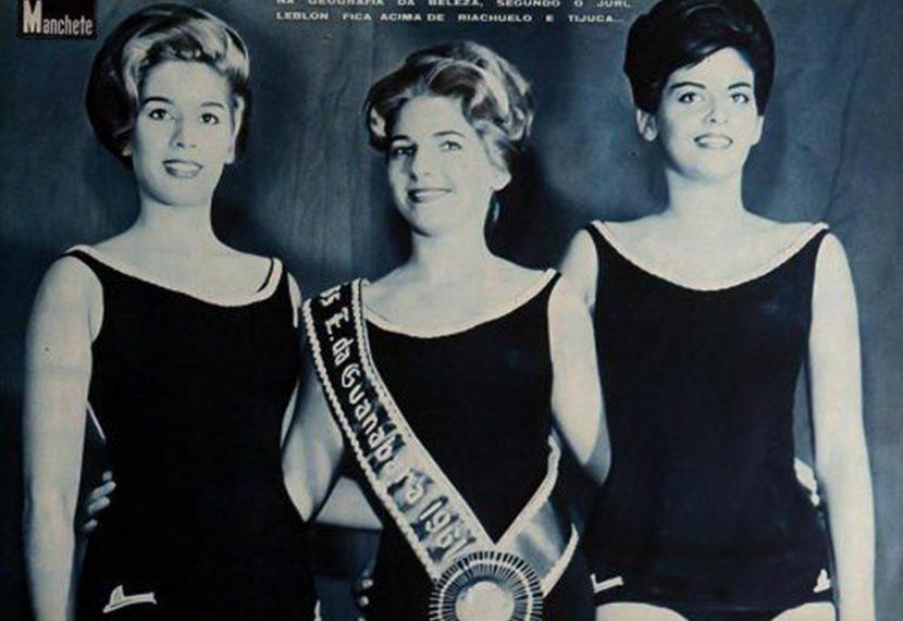 Alda Coutinho é a Miss Guanabara de 1961