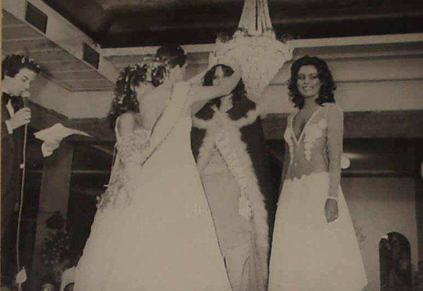 Rita de Cássia vence o Miss Pernambuco de 1981