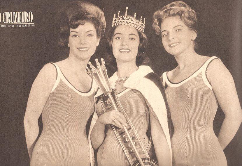 Stäel Abelha vence o Miss Brasil de 1961